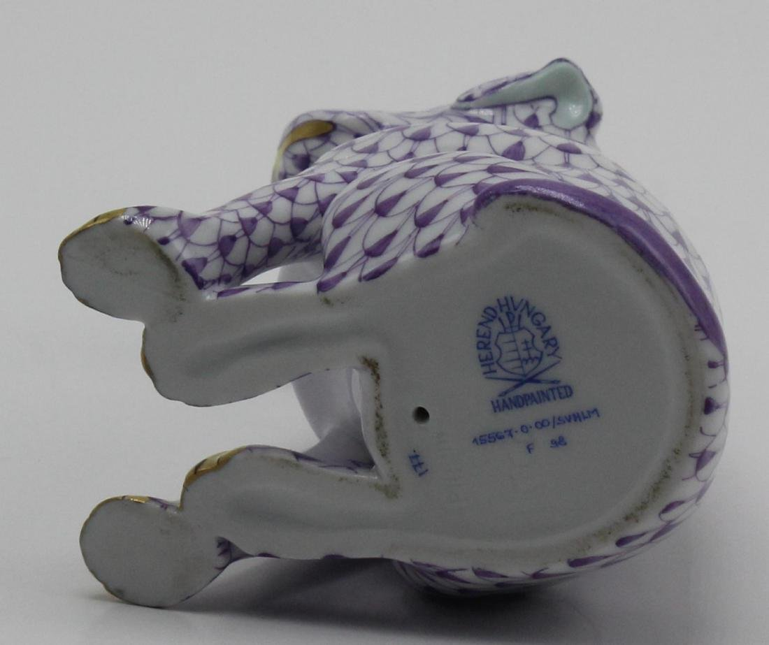 Herend (Hungary) Porcelain Sitting Dalmation Figure, - 2