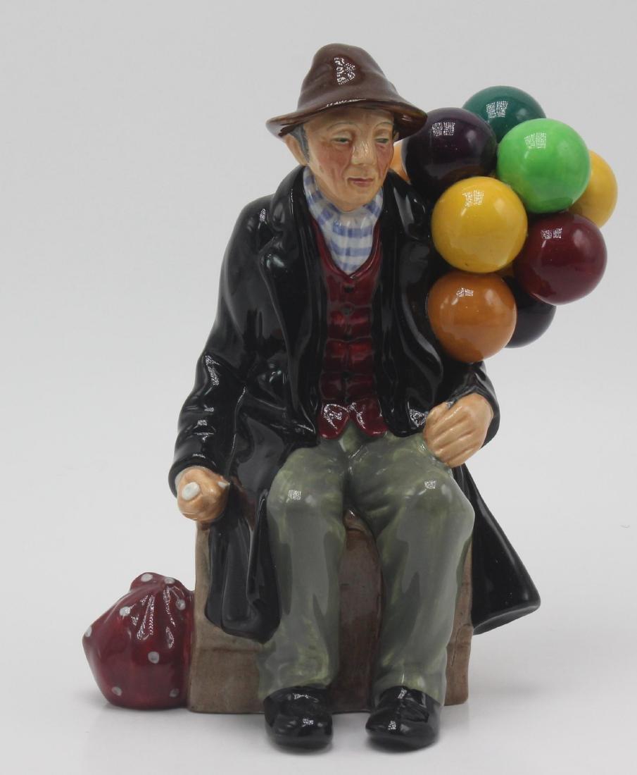 "Royal Doulton Porcelain ""Balloon Man"" Figure"