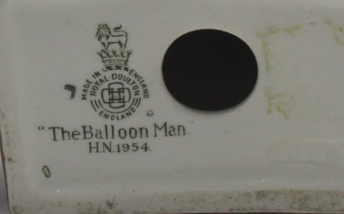 "Royal Doulton Porcelain ""Balloon Man"" Figure - 2"