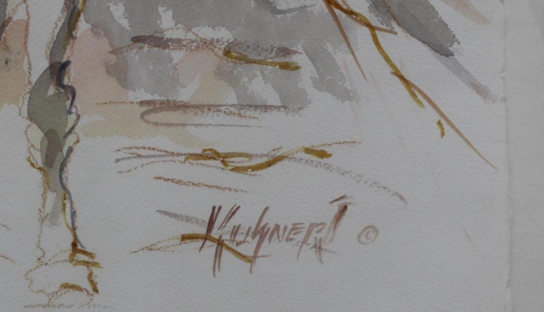 Kuhtner lithograph race horses - 2