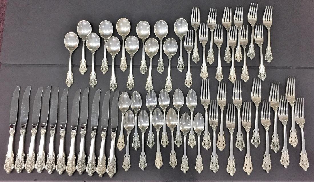 Grand Baroque Sterling Silver Flatware
