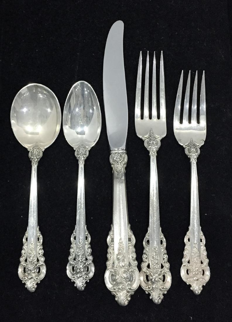 Grand Baroque Sterling Silver Flatware - 2