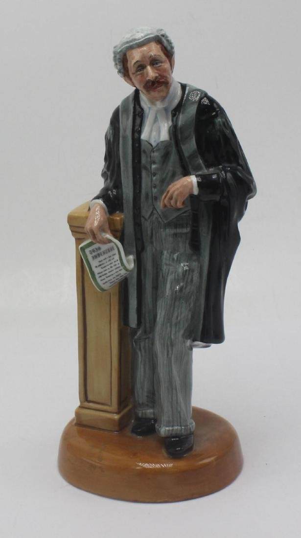 Royal Doulton The Lawyer porcelain figure hn3041