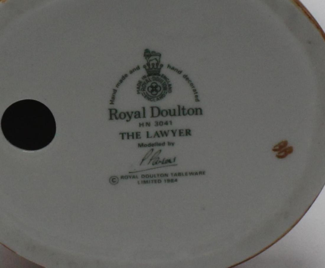 Royal Doulton The Lawyer porcelain figure hn3041 - 2