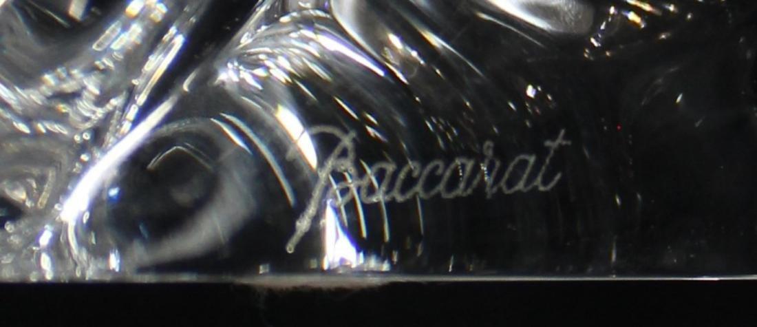 Baccarat Crystal Lion Figure - 2