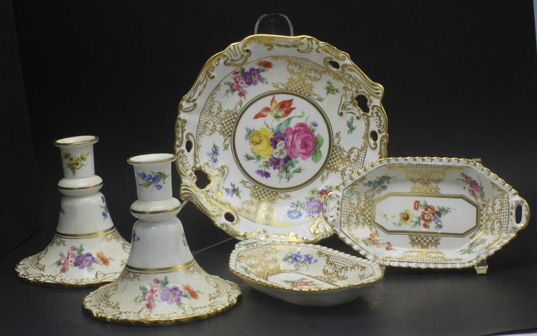 Hammersley and Co. Bone China Old Meissen Gold and