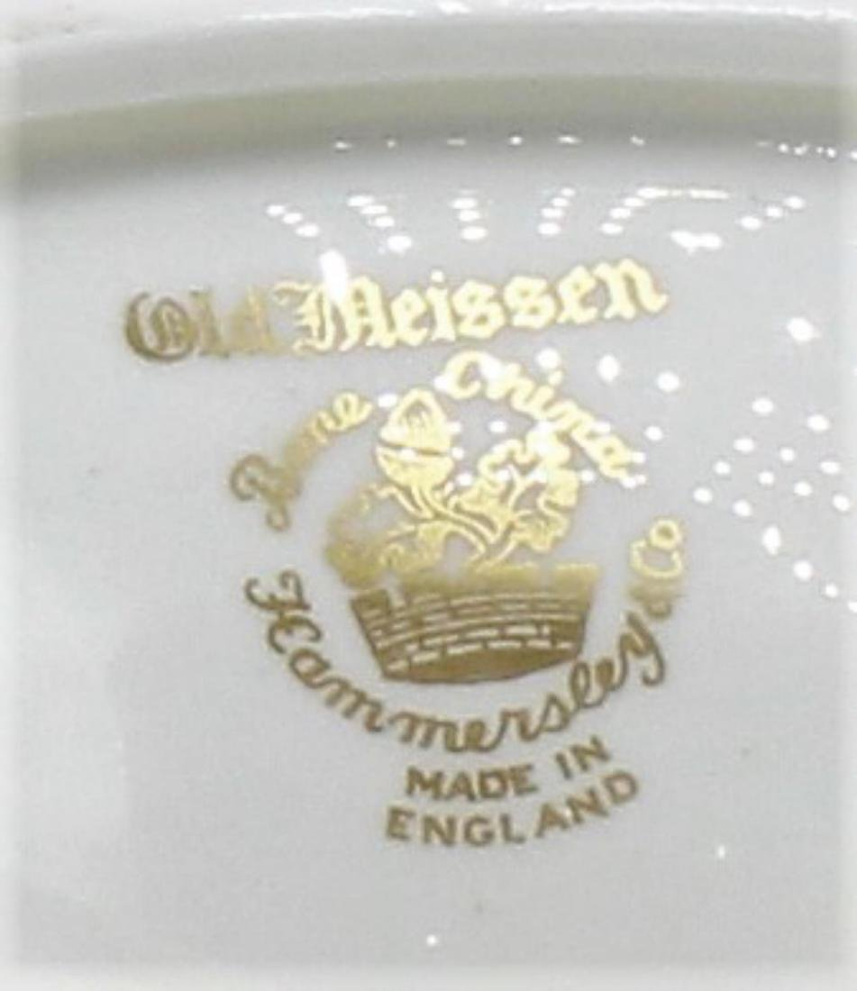 Hammersley and Co. Bone China Old Meissen Gold and - 3