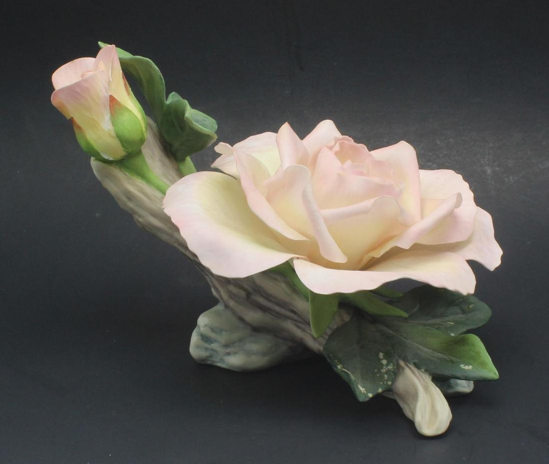 Boehm Porcelain Peace Rose Figure Limited Edition