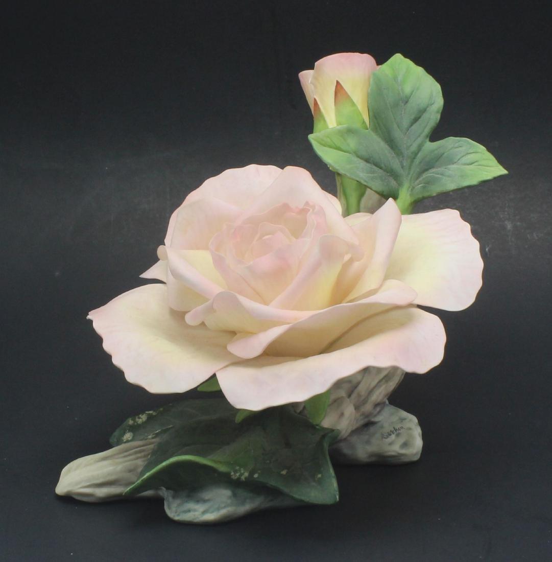 Boehm Porcelain Peace Rose Figure Limited Edition - 2