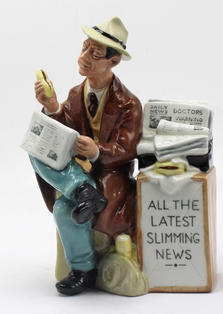 Royal Doulton Stop Press HM 2683 Porcelain Figure