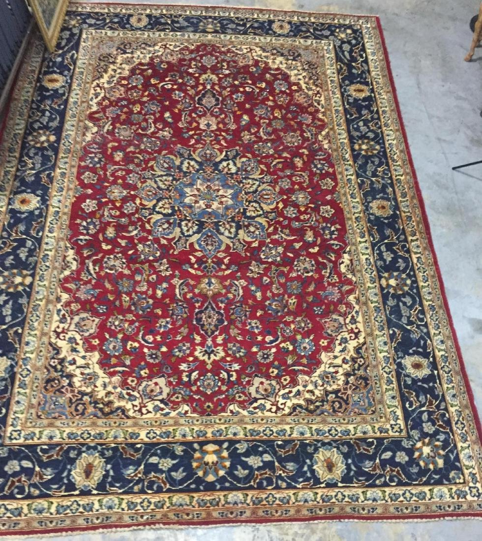Antique Persian Oriental Rug 100% Wool