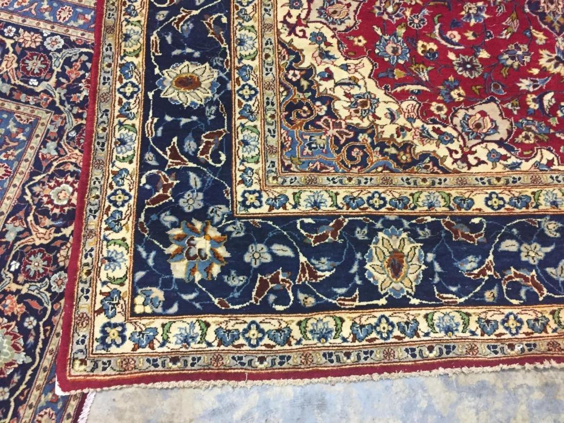 Antique Persian Oriental Rug 100% Wool - 2