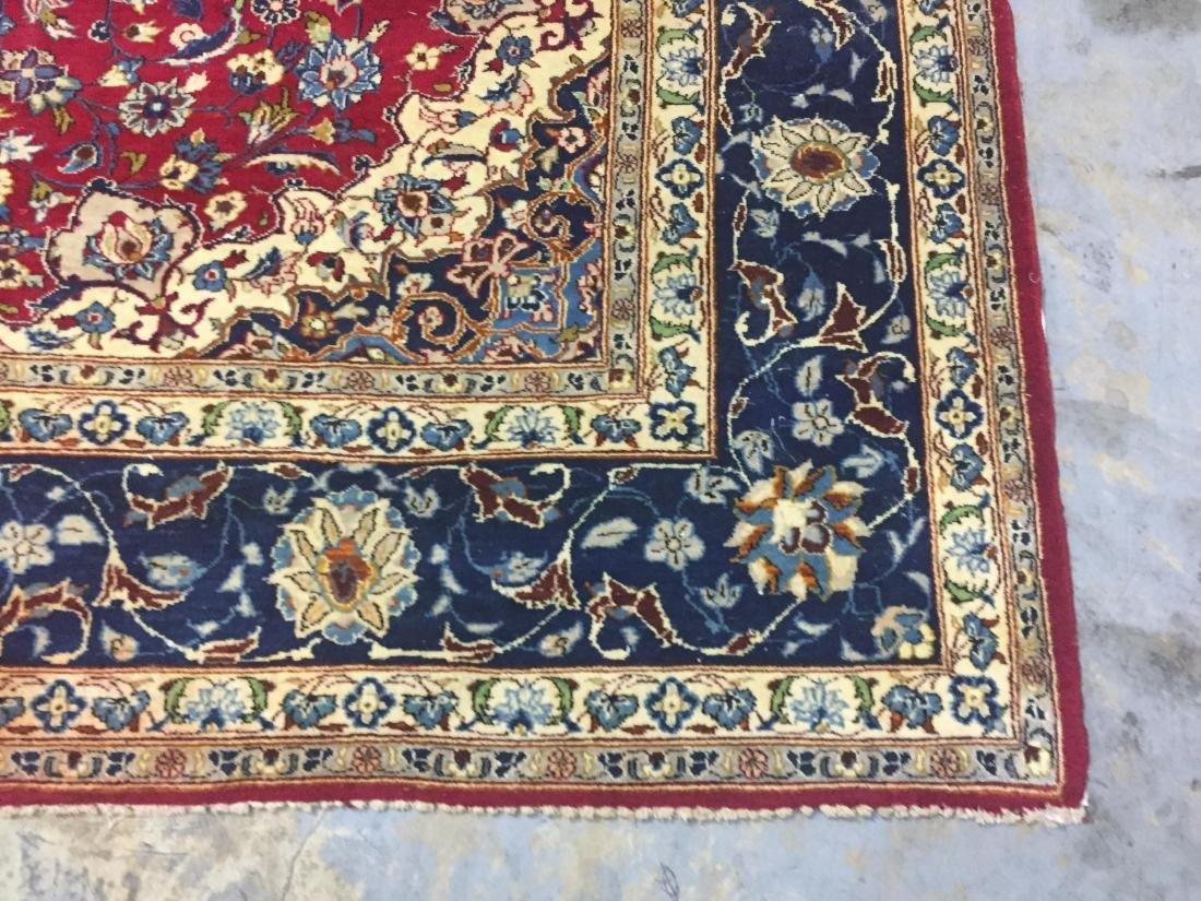 Antique Persian Oriental Rug 100% Wool - 3