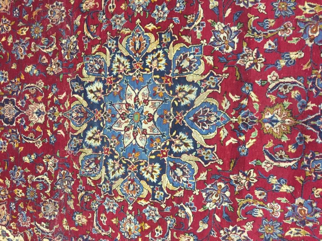 Antique Persian Oriental Rug 100% Wool - 4