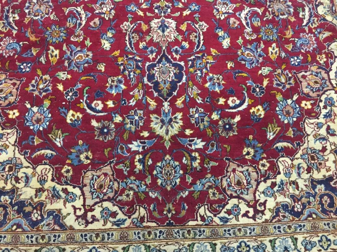 Antique Persian Oriental Rug 100% Wool - 5