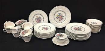 Wedgwood Patrician Morning Glory Porcelain Lot of 43