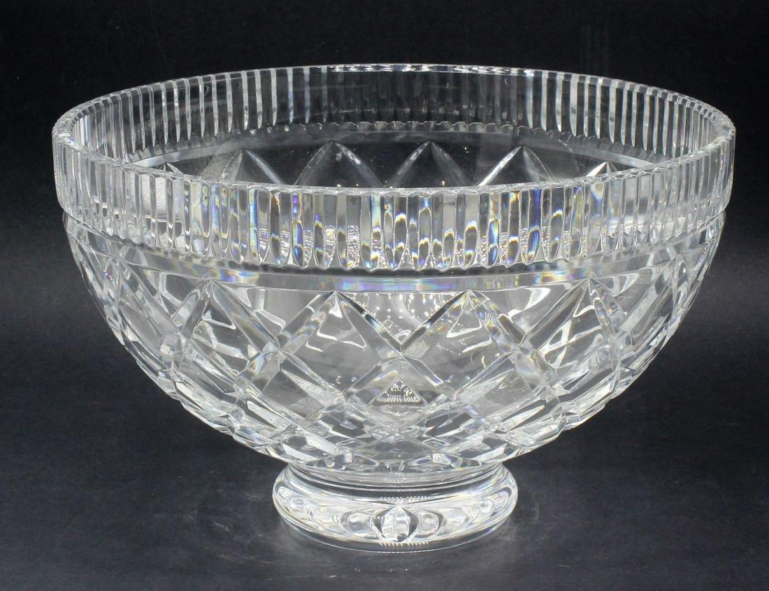 Waterford cut crystal bowl