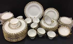 Royal Crown Derby partial bone china set 75pcs