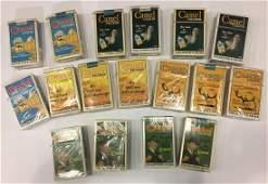 Vintage camel lights collector packs of cigarettes