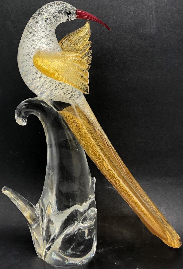 Murano Art Glass Bird Figure
