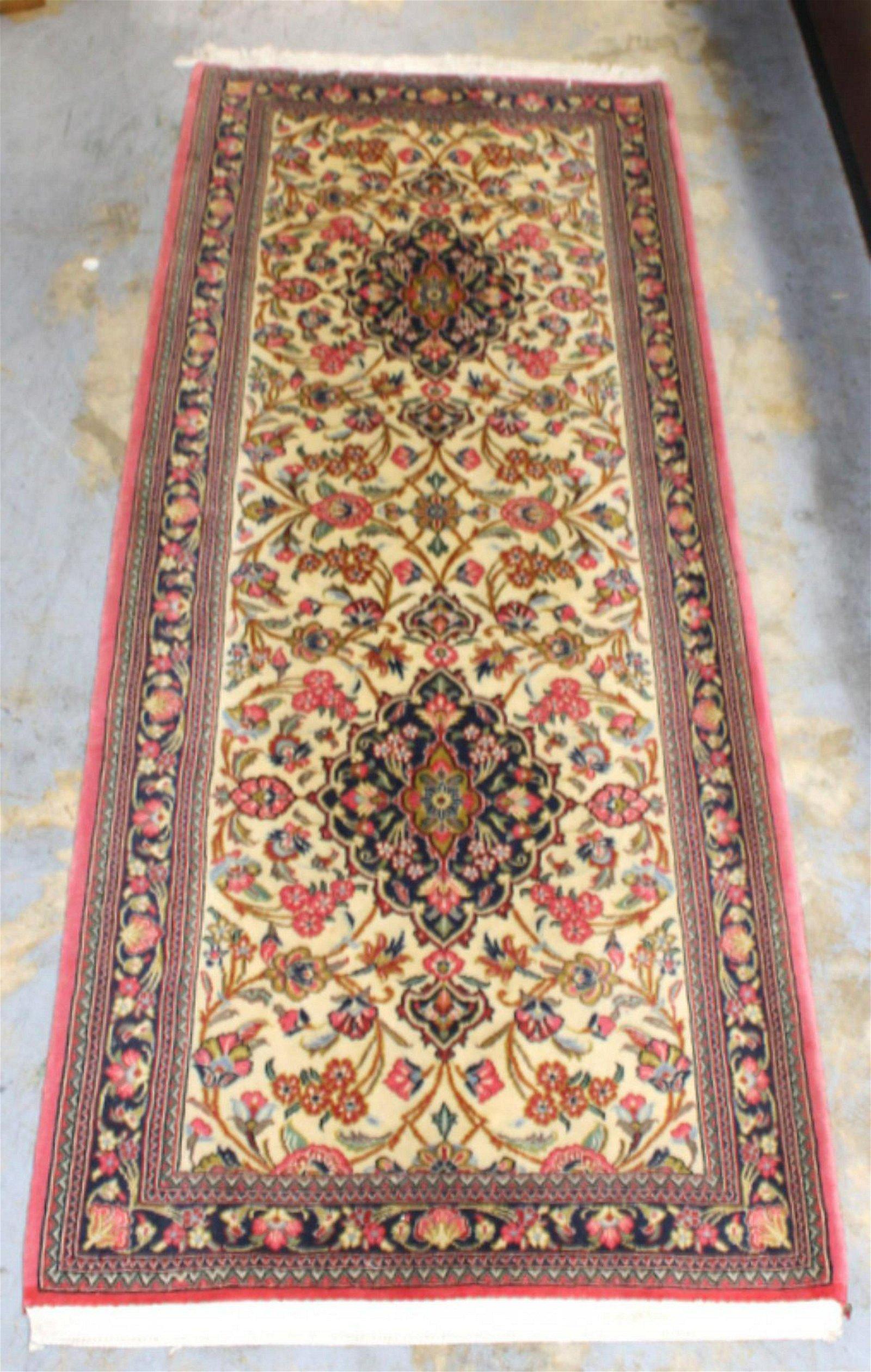 Antique Persian Tabiz Rug