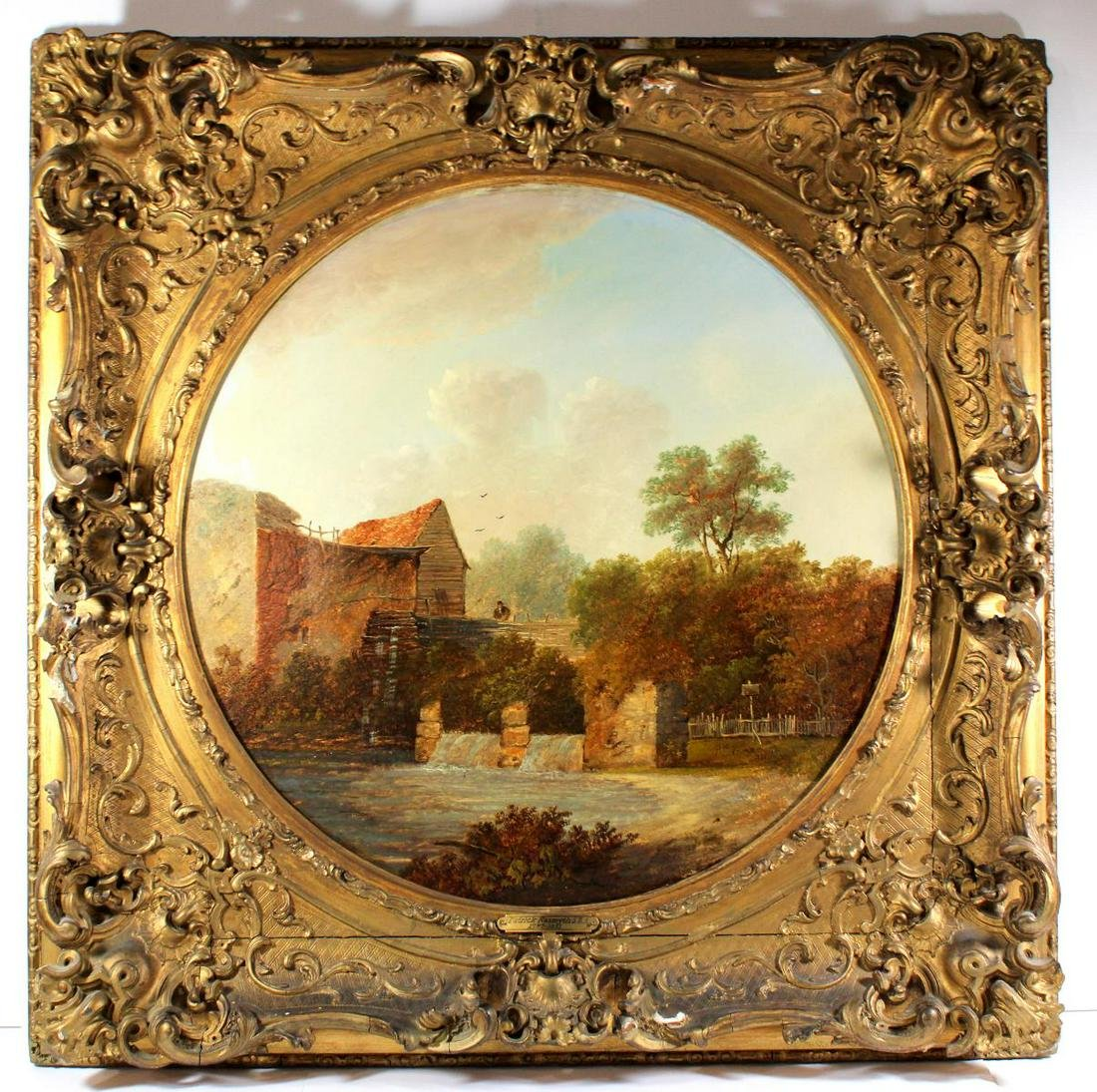 Signed & Dated Patrick Nasmyth Oil Painting