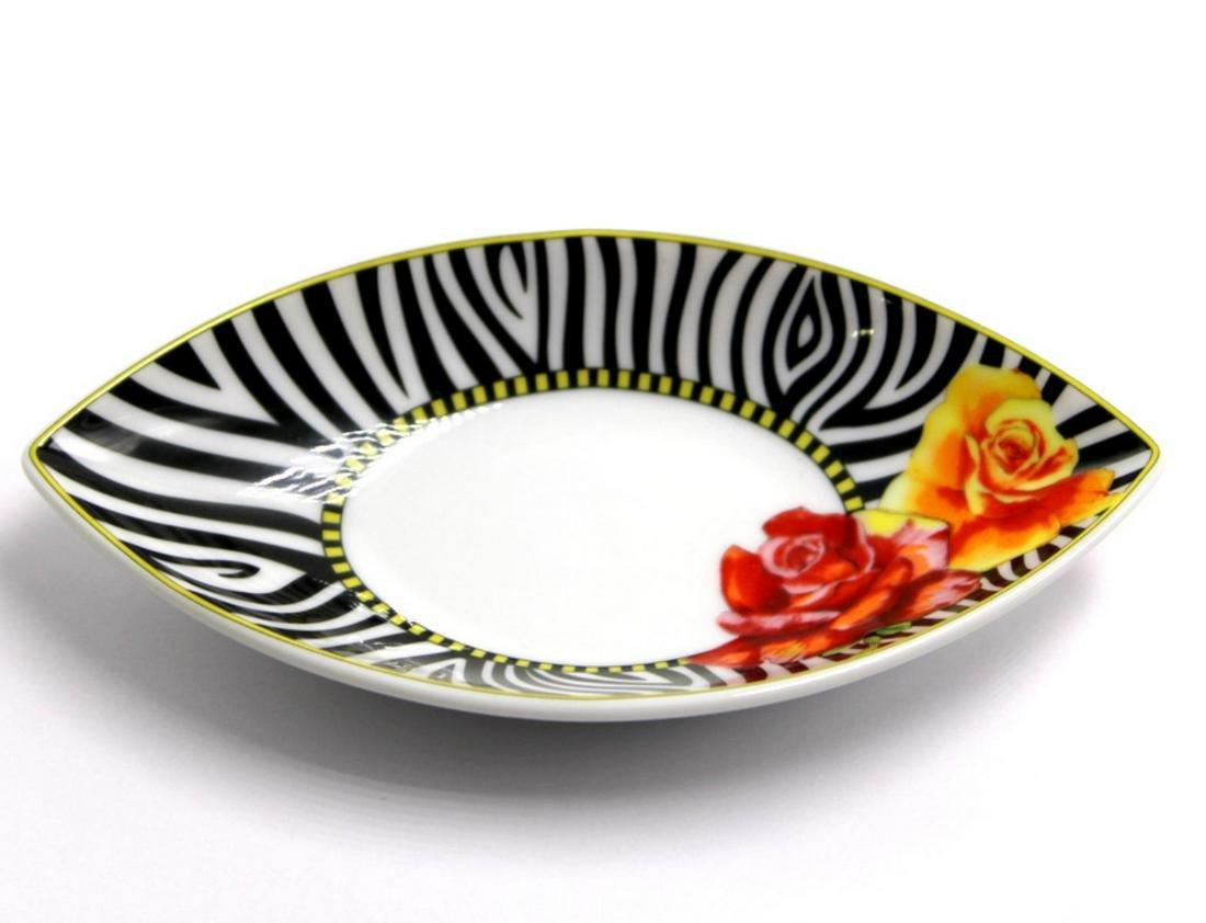 Rosenthal Versace Hot Flowers Saucer Dish