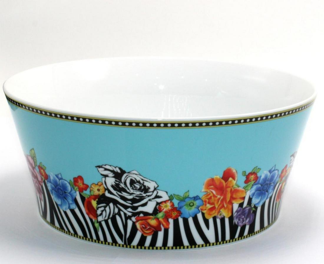 Rosenthal Versace Hot Flowers Bowl