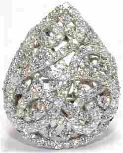 18kt WG and Diamond Ring