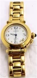 Cartier Pasha 18kt Solid Gold Rare Gentleman Bracelet