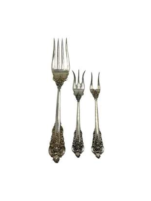 Wallace Grand Baroque Sterling Silver Serving Pieces of