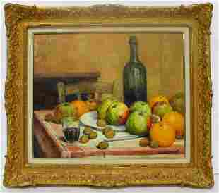 Signed Emile Saudemont (French, 1898-1967) Oil Painting