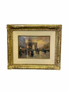 Edouard Cortes Oil Painting on Canvas Titled The Champs