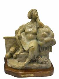 Bronze by Martha Pettigrew Too Many Cabbages Too Few