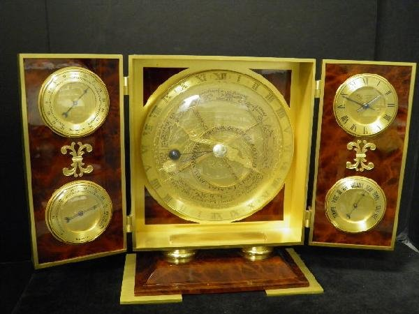 1: Unusual French Table Clock