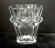 152 Large clear crystal Baccarat Ice Bucket