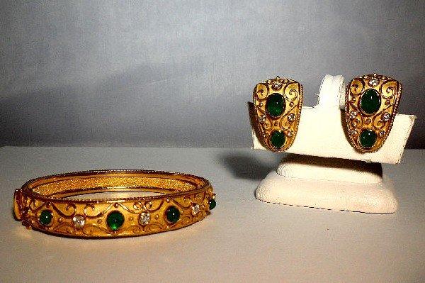 20A: Exquisite Kieselstein-Cord Style Emerald & Diamond