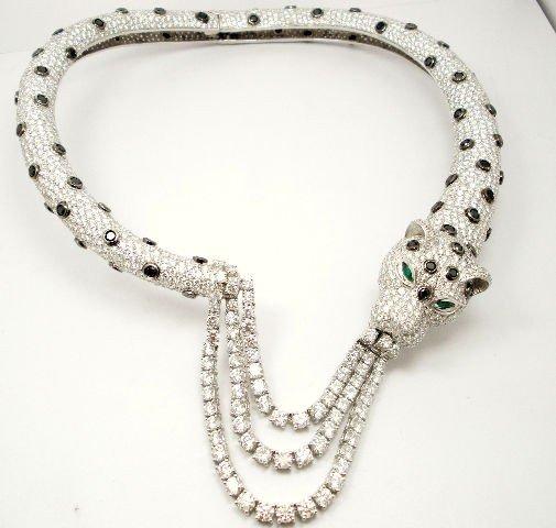 216: Stunning Apx.100.00Ct Diamond Necklace