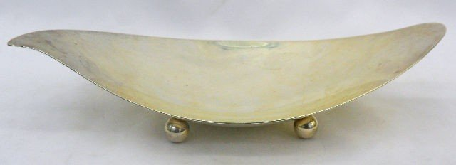 509: Tiffany & Co. Sterling Silver Footed Dish
