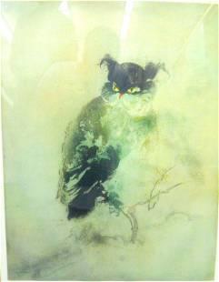 77: Original Aquatint Etching by Kaiko Moti