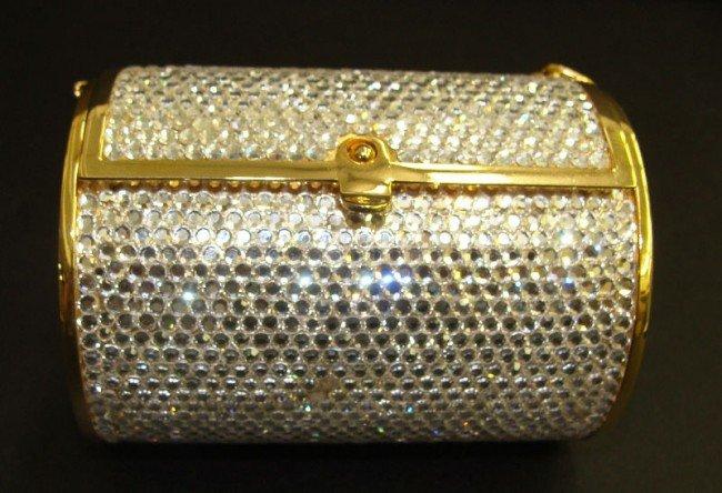 306: Judith Leiber Swarovski Crystal Purse
