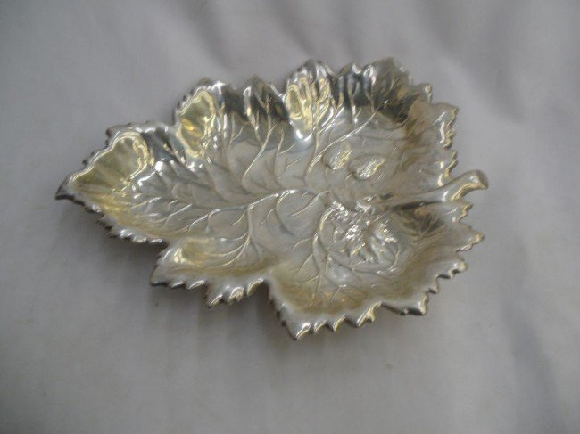 314: Magnificent Sterling Silver Dish