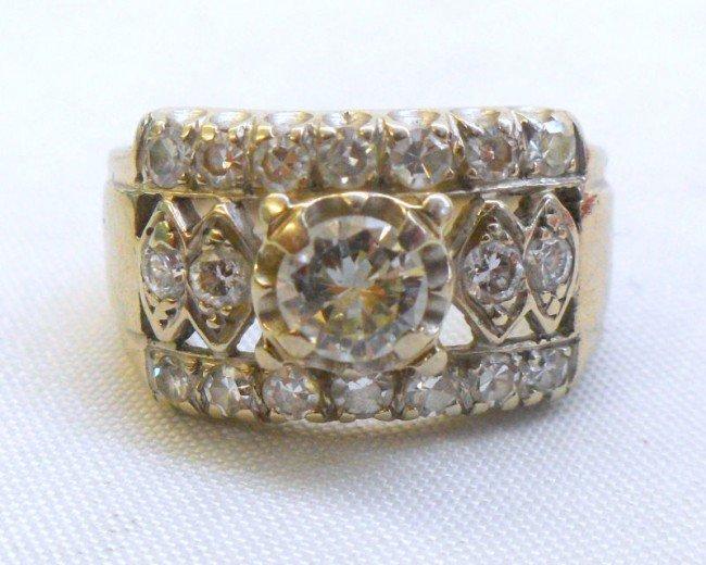 303A: 18 Kt. W.G. All Around Diamond Ring