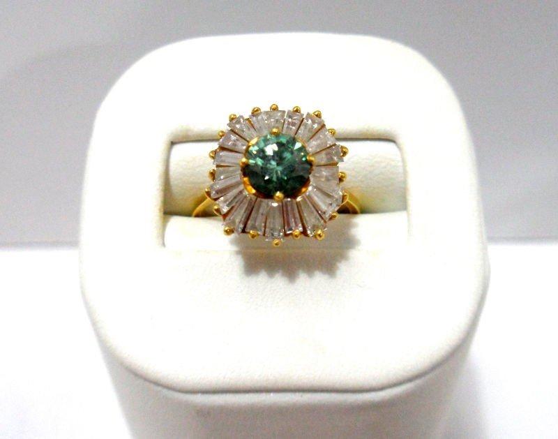 415A: 18K Y.G. 2.15Ct Diamond Ring