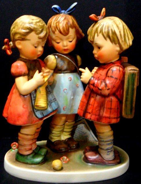 111: Hummel Goebel School Girls Figurine
