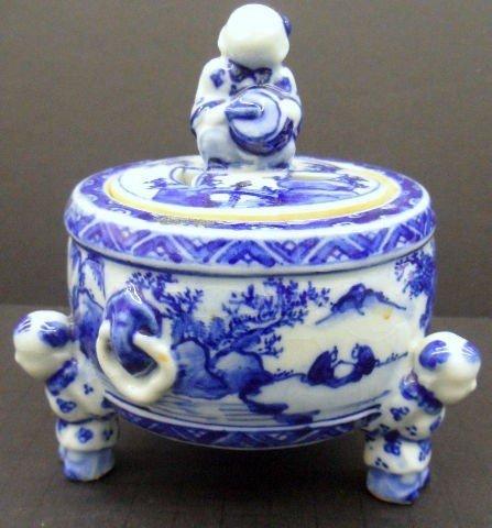 109: Chinese Porcelain Incense Burner