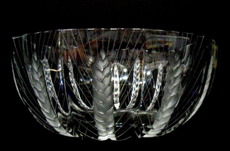 "403: Lalique France ""Ceres"" Crystal Bowl"