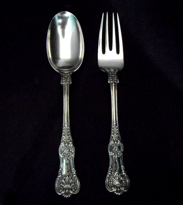 710: Tiffany & Co. Sterling Silver Serving Set