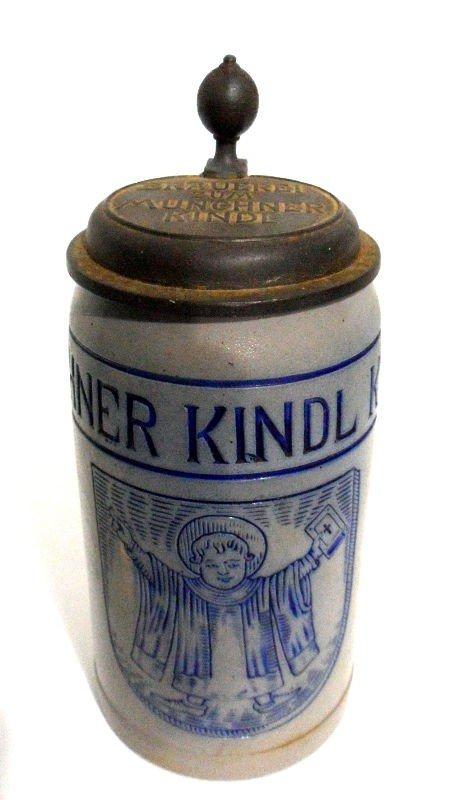 705: German Ceramic Beer Stein