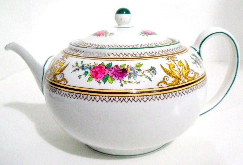 707: Wedgwood Porcelain Columbia Teapot